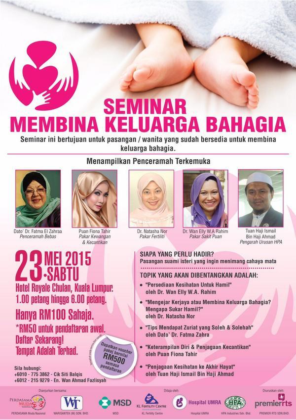 membina keluarga bahagia seminar